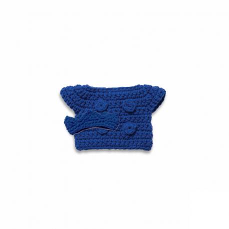 blauwe koningsset handmade
